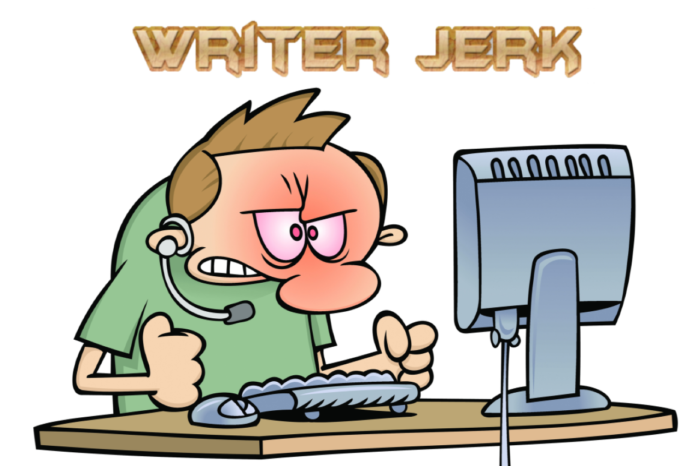 The Writer Jerk Podcast Logo